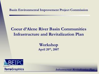 Basin Environmental Improvement Project Commission   Coeur d Alene River Basin Communities Infrastructure and Revitaliza