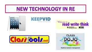 New technology in RE