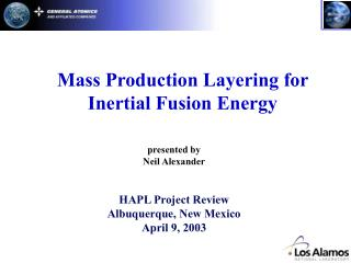 Mass Production Layering for Inertial Fusion Energy