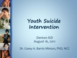 Youth Suicide Intervention