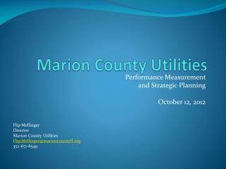 Marion County Utilities