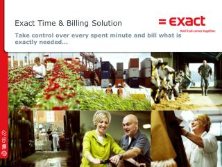 Exact Time  &  Billing Solution
