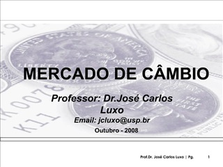 MERCADO DE C MBIO