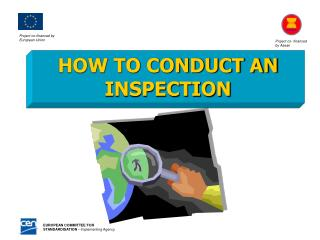 HOW TO CONDUCT AN INSPECTION