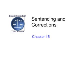 Sentencing and Corrections