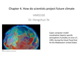 Chapter 4. How do scientists project future climate