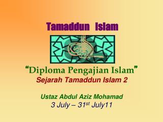 Tamaddun Islam