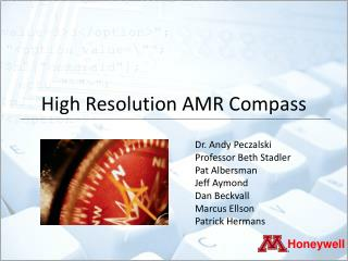 High Resolution AMR Compass