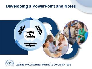Leading by Convening: Meeting to Co-Create Tools