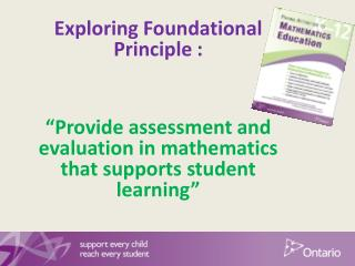 Exploring Foundational Principle :