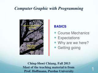 Computer Graphic with Programming