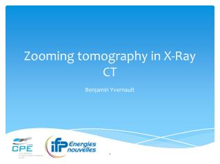 Zooming tomography in X-Ray CT