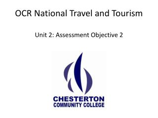 OCR National Travel and Tourism