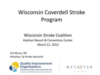 Wisconsin Coverdell Stroke Program