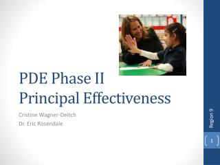 PDE Phase II  Principal Effectiveness