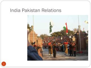 India Pakistan Relations