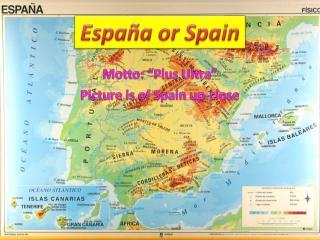 España o r Spain