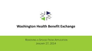 Removing a Spouse From Application January 27, 2014