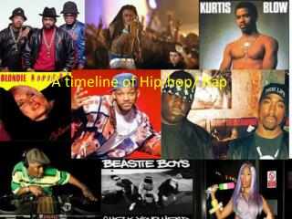 A Time Line of Hip-Hop/Rap