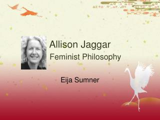 Allison Jaggar Feminist Philosophy