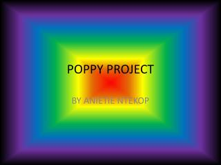 POPPY PROJECT
