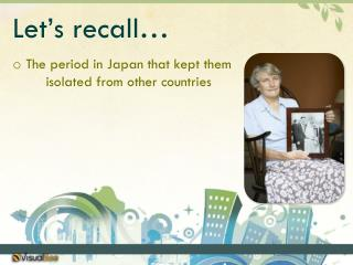 Let's recall…