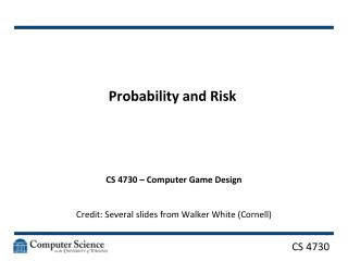 Probability and Risk