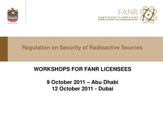 Regulation on Security of Radioactive Sources