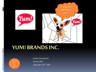 Yum! Brands Inc.