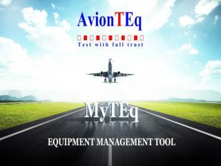 MyTEq provides organization and answers