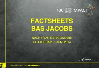 Factsheets  Bas Jacobs