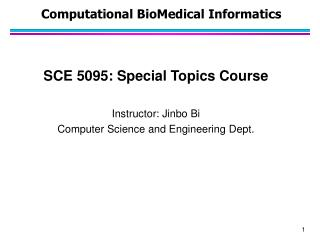 Computational  BioMedical  Informatics