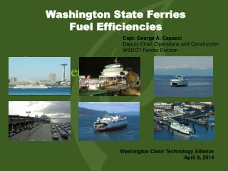 Washington State Ferries  Fuel Efficiencies