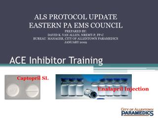 ACE Inhibitor Training