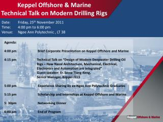 Date:  	 Friday, 25 th November 2011 Time:	 4:00 pm  to  6:00 pm