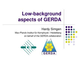 Low-background aspects of GERDA