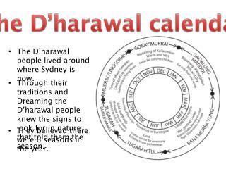 The D'harawal calendar