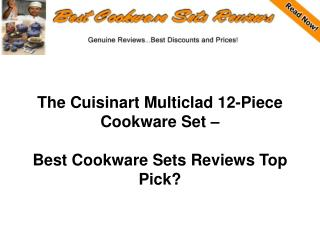 Cuisinart Multiclad 12-Piece Cookware Set