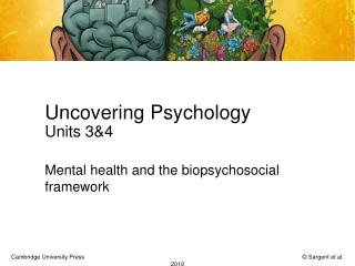 Uncovering Psychology Units 3&4