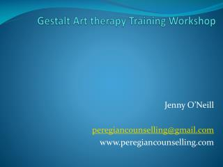 Gestalt Art therapy Training Workshop