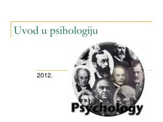 Uvod u psihologiju