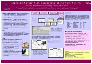Improved Cancer Risk Assessment Using Text Mining