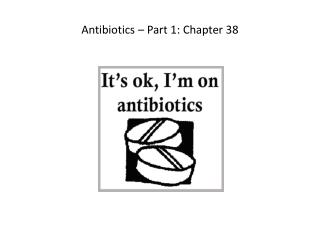 antibiotics part 1 Watch 700+ videos on basic medical sciences at .