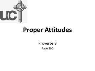 Proper Attitudes