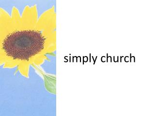 s imply church
