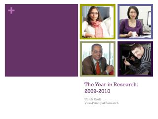 The Year in Research:	 2009-2010