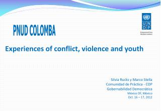 Experiences of conflict, violence and youth