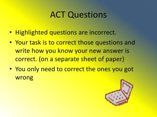 ACT Questions