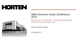 AEEC Summer Camp Conference 2012