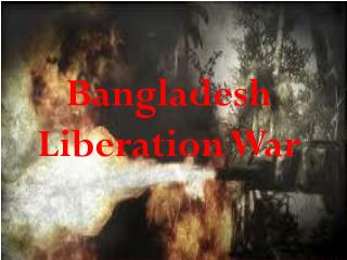 Bangladesh Liberation War